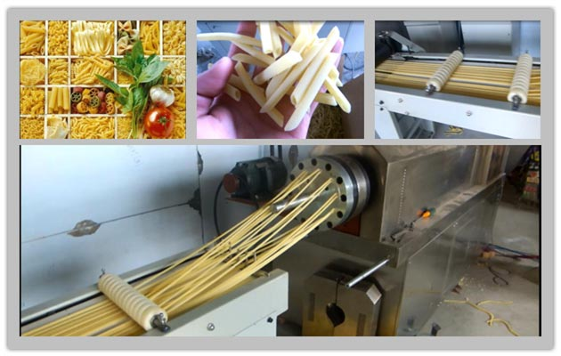 Industrial Pasta Processing Line